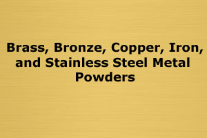 Metal Powders for Recycling